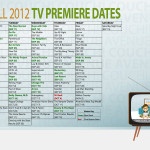 [TV] Fall 2012 TV Premiere List