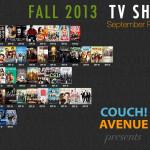 Premiering This Week on Fall TV 2013