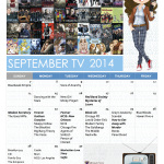 [TV] What's Premiering September 2014