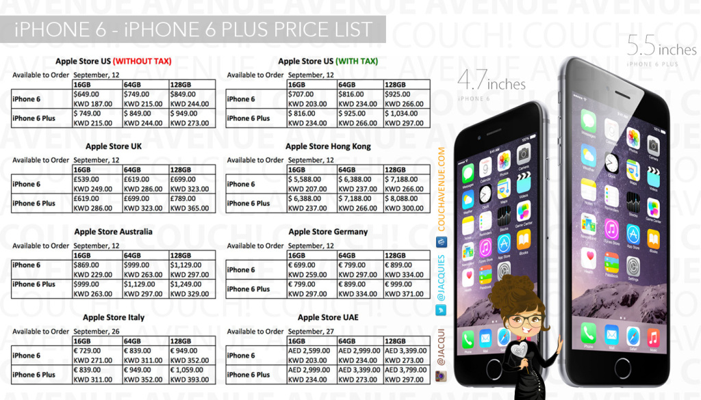 price of iphone 6 in usa iphone iphone 6 plus price in usa 2534