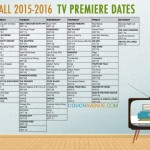 Fall TV 2015 – 2016 Schedule